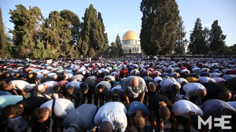Muslims in Jerusalem