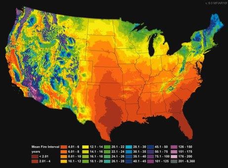 Fire Risk USA Map