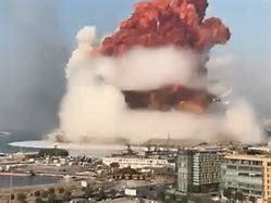 Explosion In Bejrut